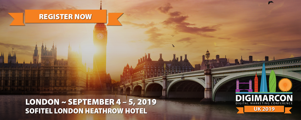 DigiMarCon UK 2019 Register